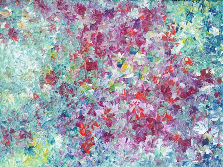 Floral Abstracts Collection by Mary Narduzzo