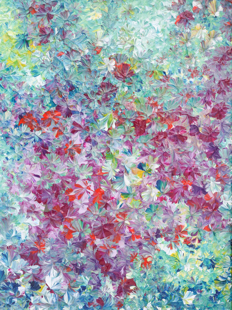 Spring Bloom - Painting by Mary Narduzzo