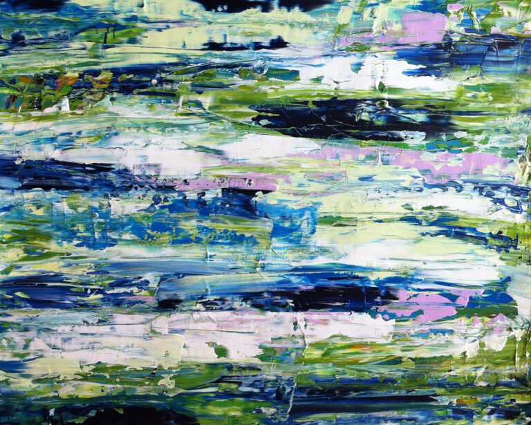 Waters Edge - Painting by Mary Narduzzo